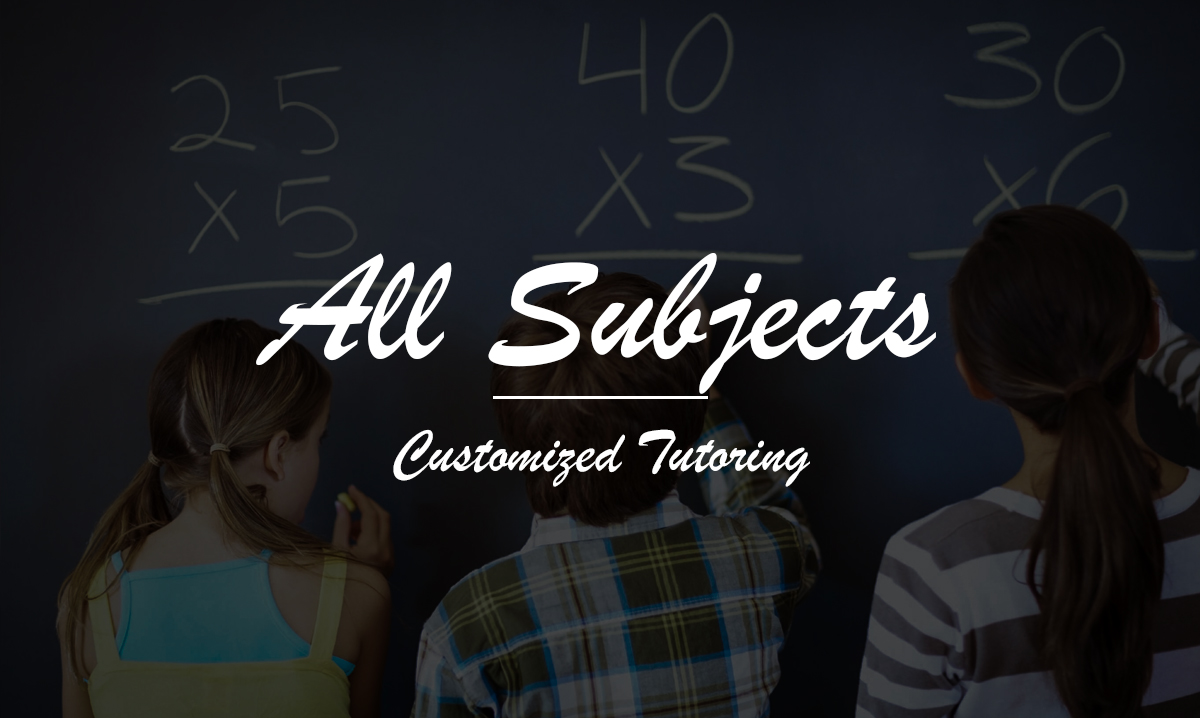 Common Core Tutoring